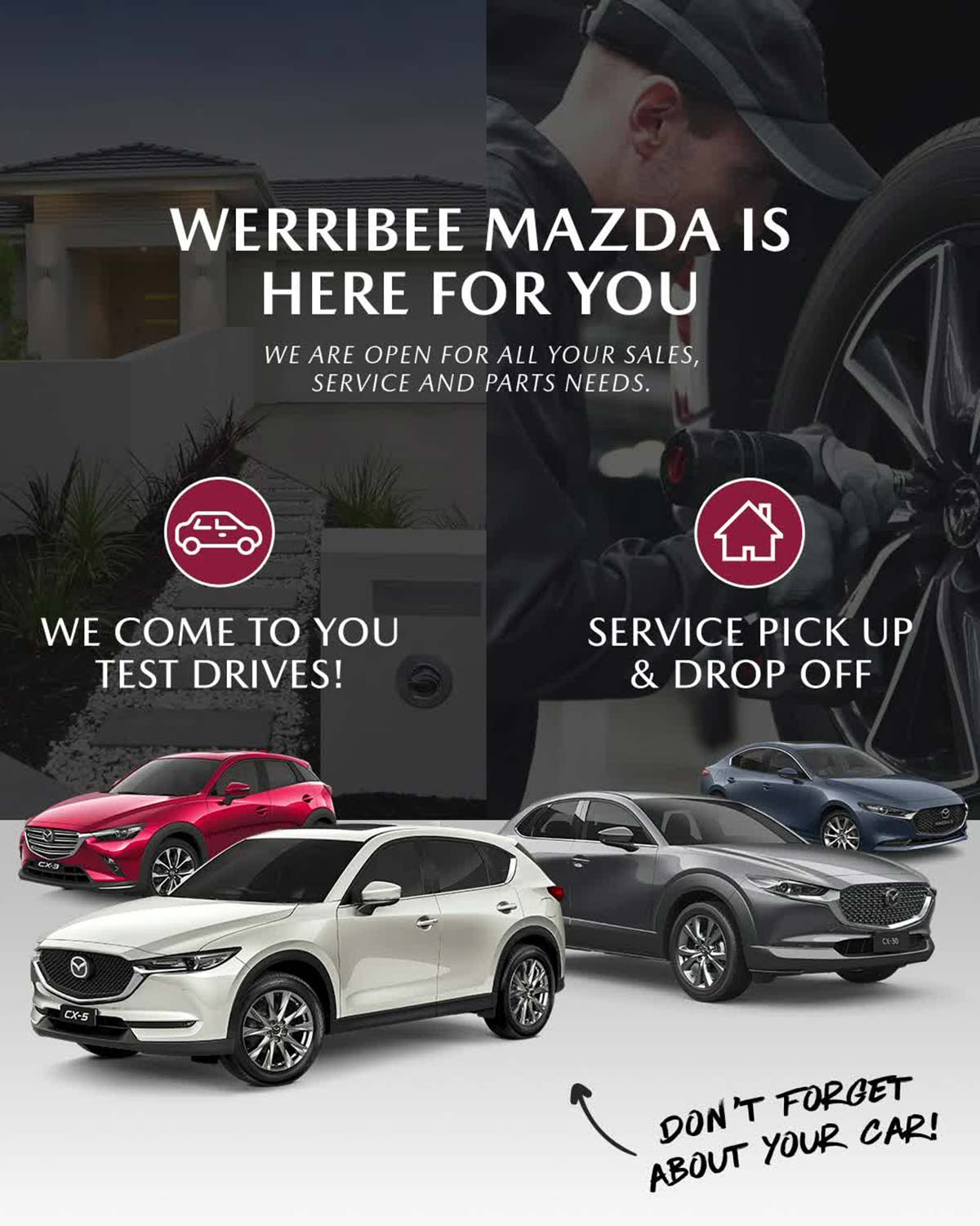 Werribee Mazda is Here For You