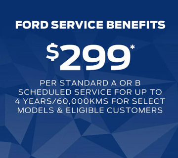 Book your service with confidence at Dominelli Ford