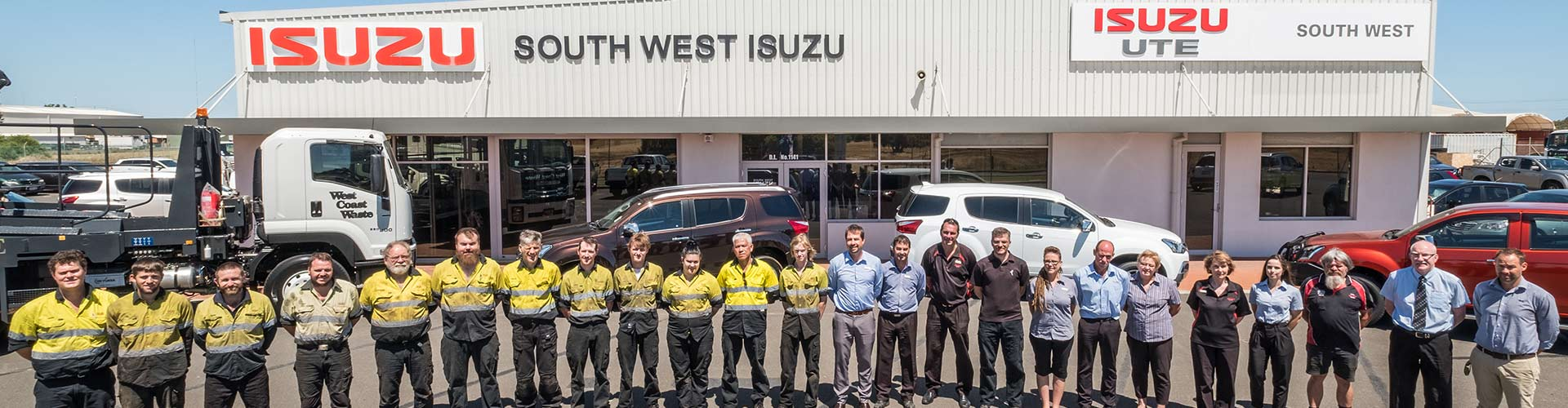 South West Isuzu About Us