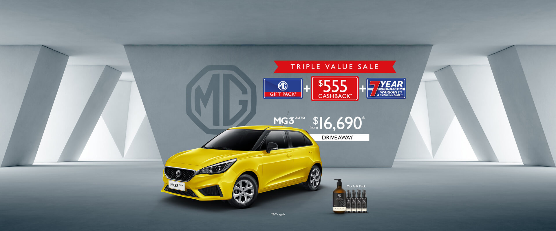 MG3 - Triple Value