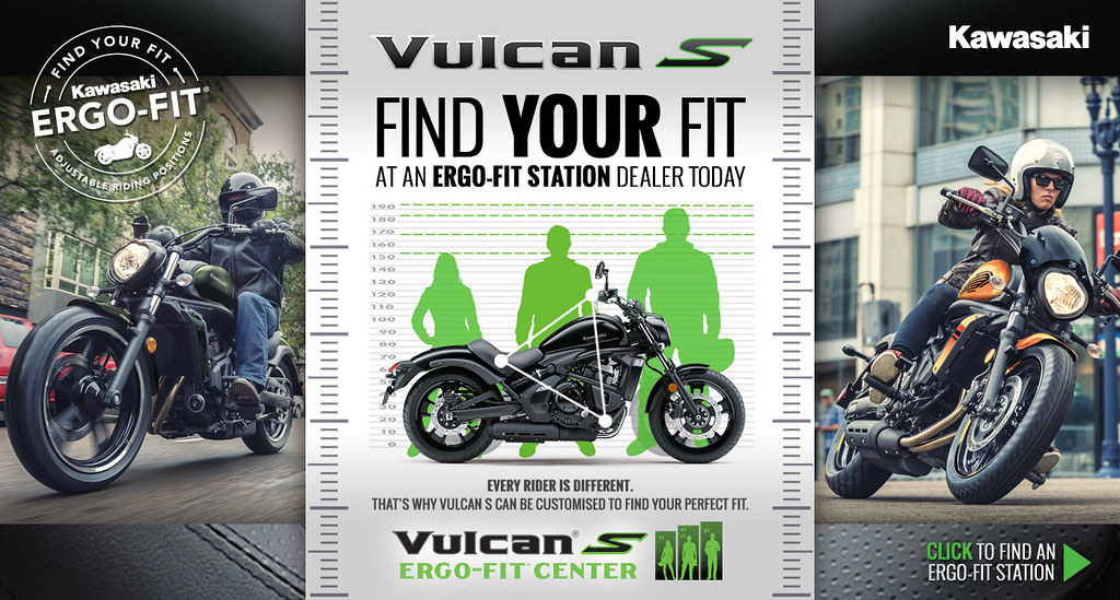 KAWASAKI Vulcan S Find Your Fit