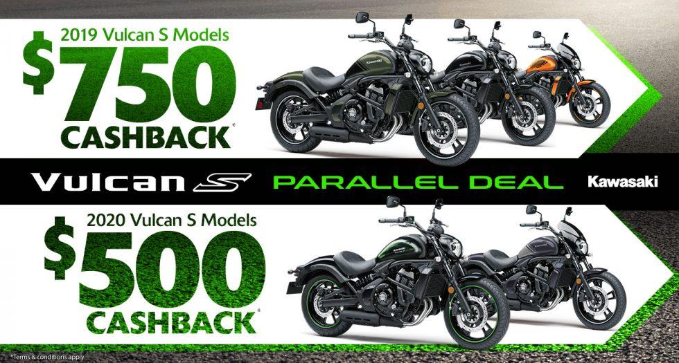 Kawasaki Vulcan S Parallel Deal