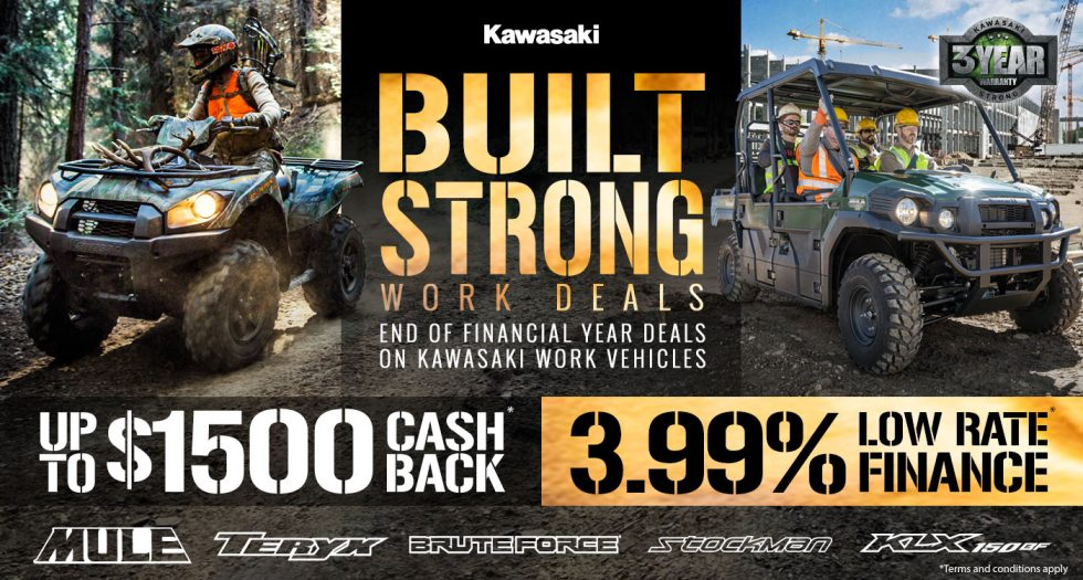 Kawasaki Built Strong