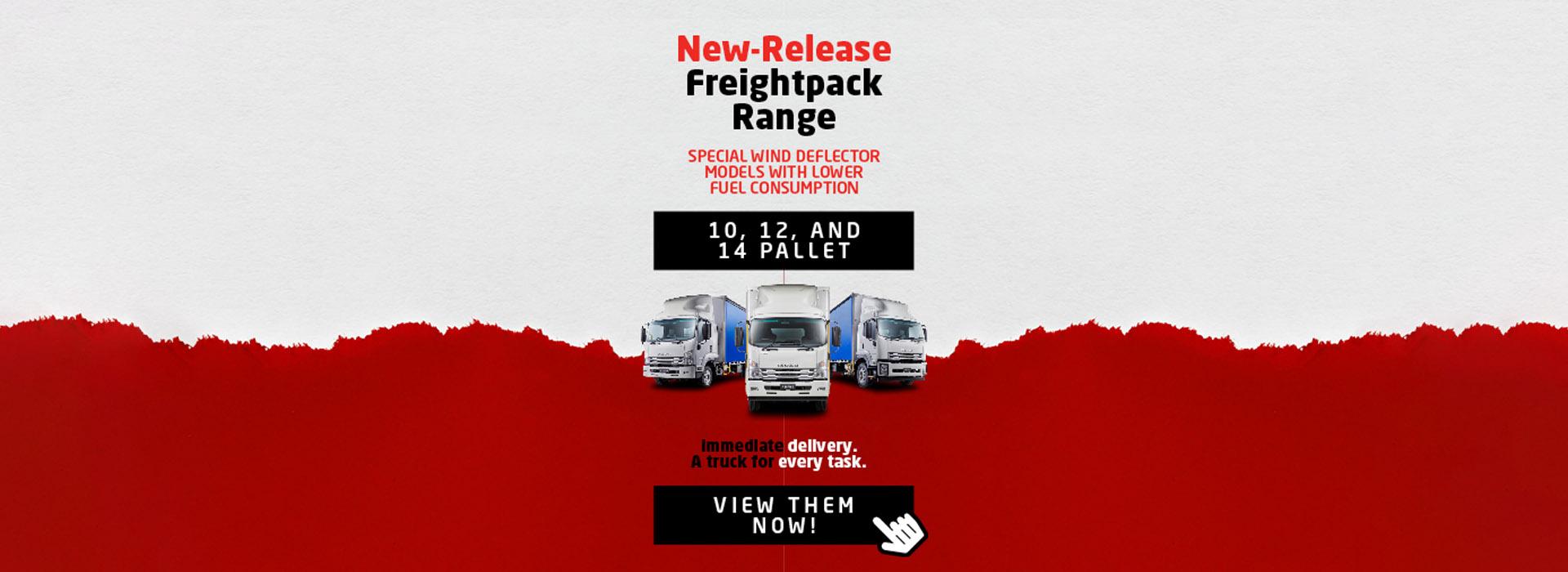 Brisbane Isuzu Freight pack Banner