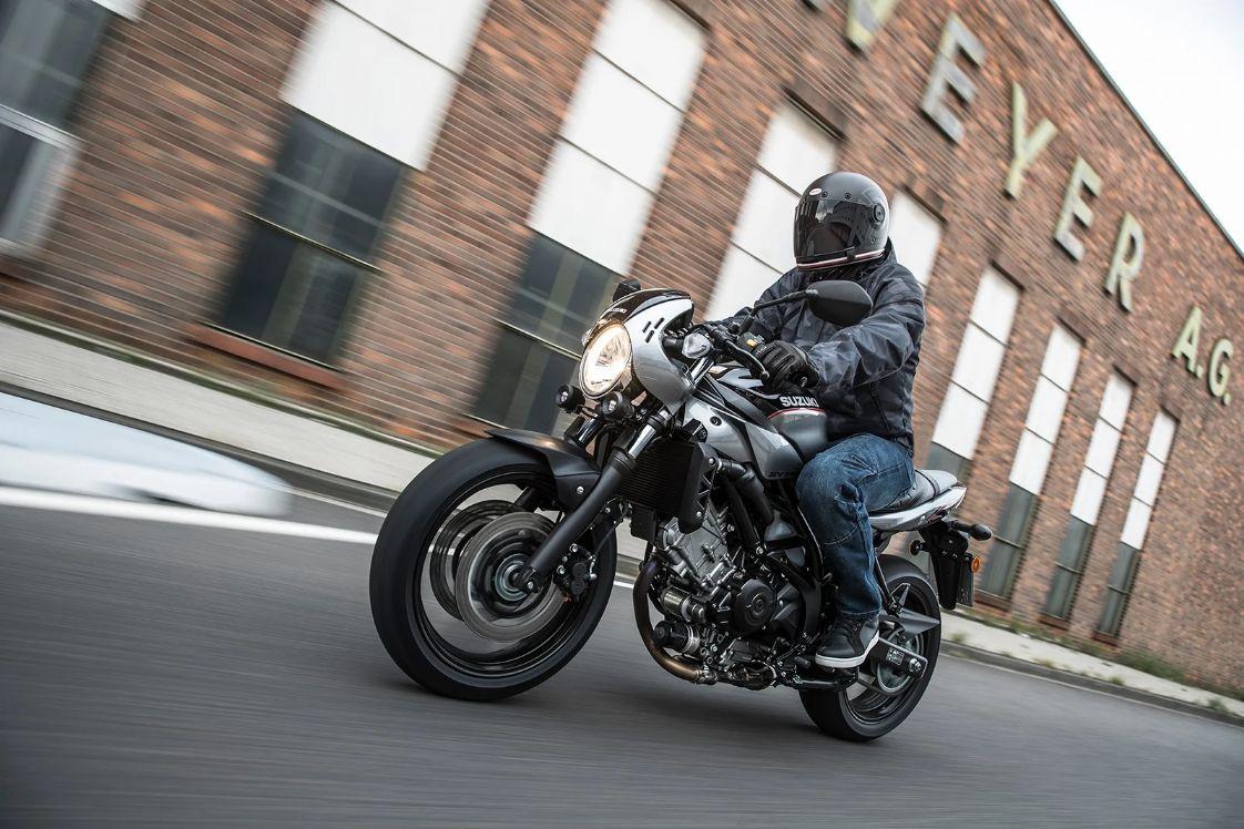 SV650X Ride Away