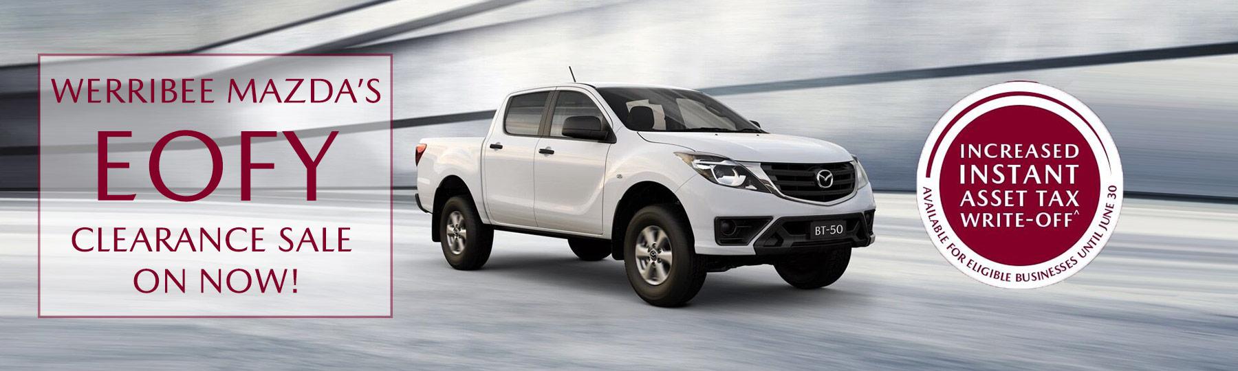 Werribee Mazda EOFY Business Deals