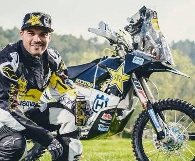 Pablo Quintanilla husqvarna Rally Abu Dhabi Desert Challenge Trail Moto Cross image