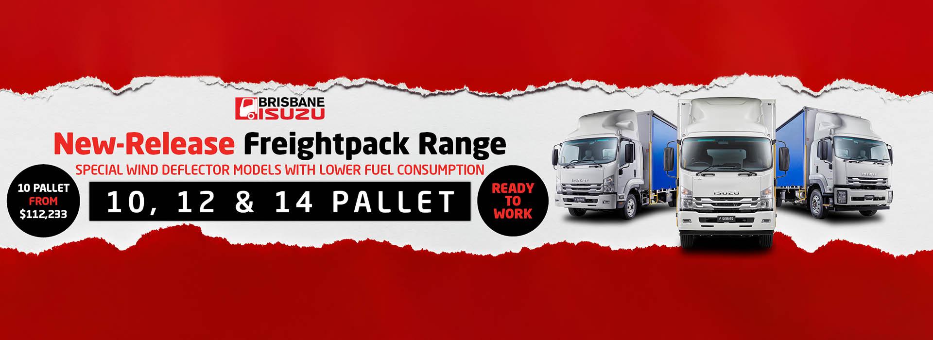 Brisbane Isuzu New Release Freight Pack