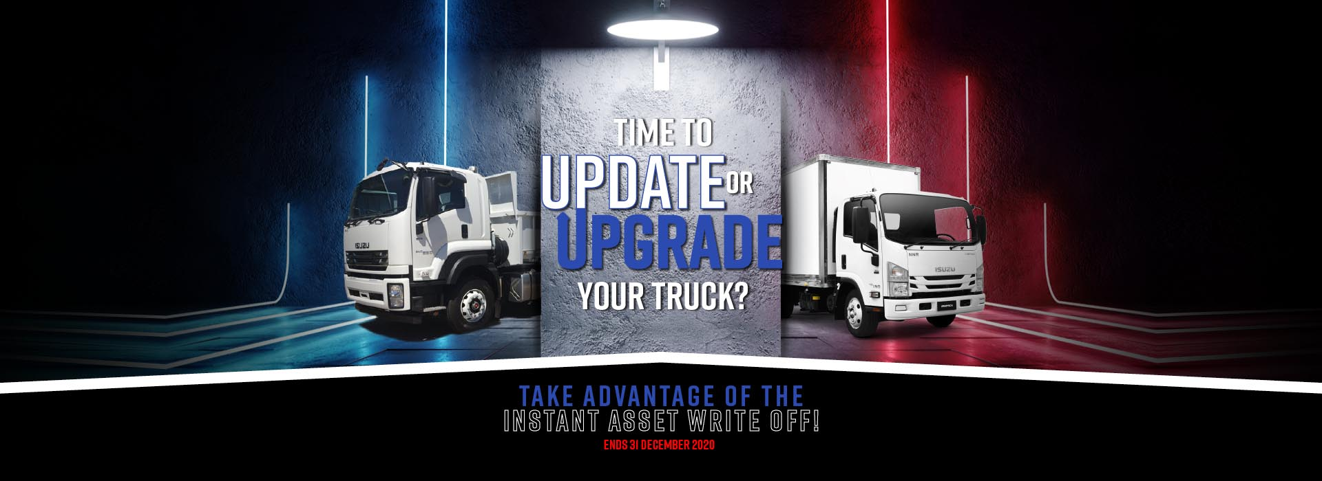 Brisbane Isuzu Update or Upgrade Your Truck Offer