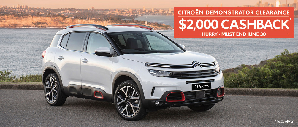 Citroen Sydney June Demo Clearance