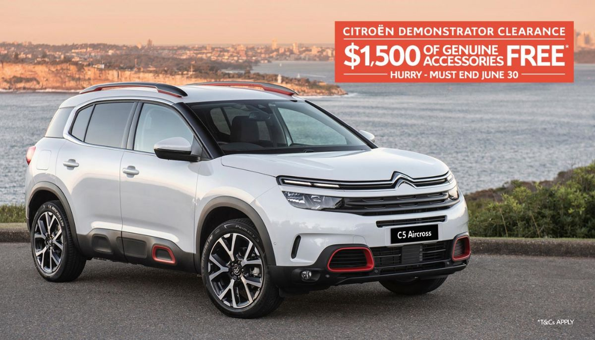 Citroen Melbourne June Demo Clearance
