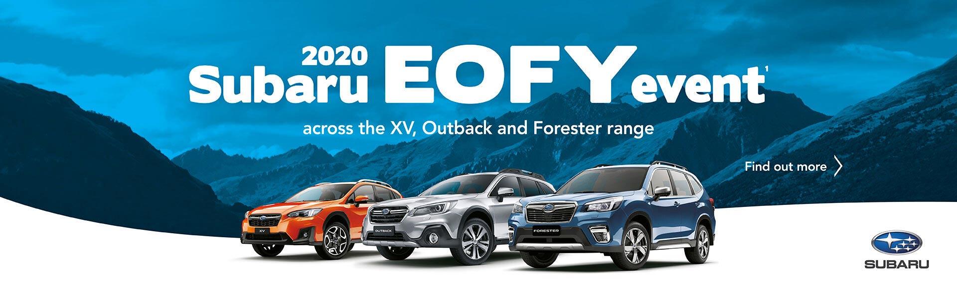 Subaru EOFY Sale