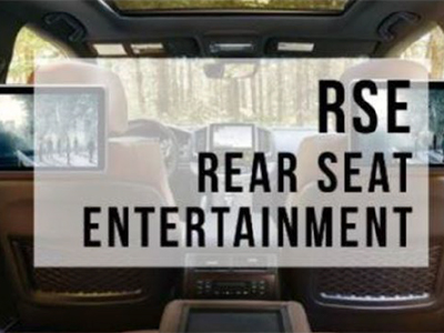Rexton - Rear Seat Entertainment