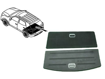 Korando - Luggage Lid Assembly