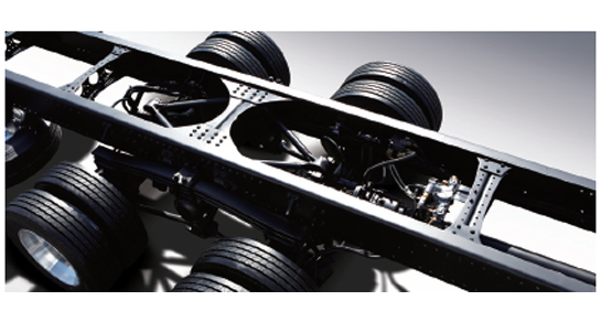 Xcient - Front Frame & High-tensile Chassis