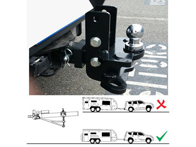 Musso - Weight Distribution Kit