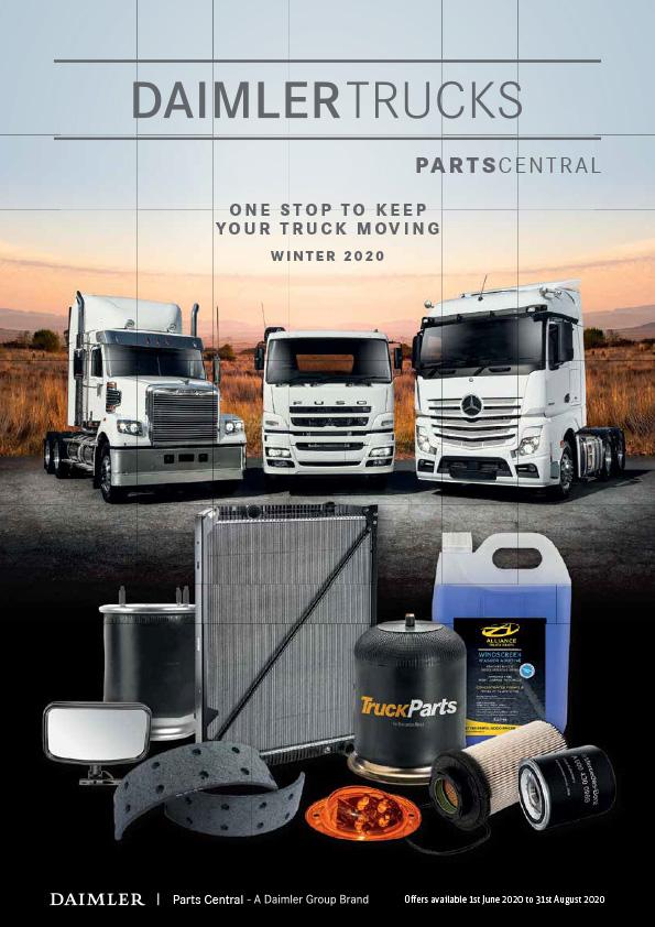 Parts Central brochure