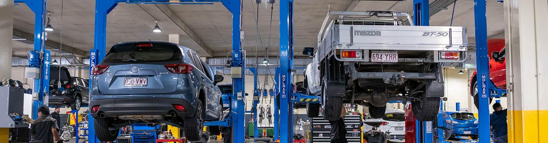 Grand Prix Mazda Aspley Service Menu