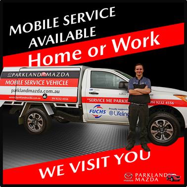 Parkland Mazda Mobile Servicing