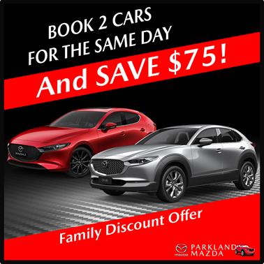 Parkland Mazda Family Discount