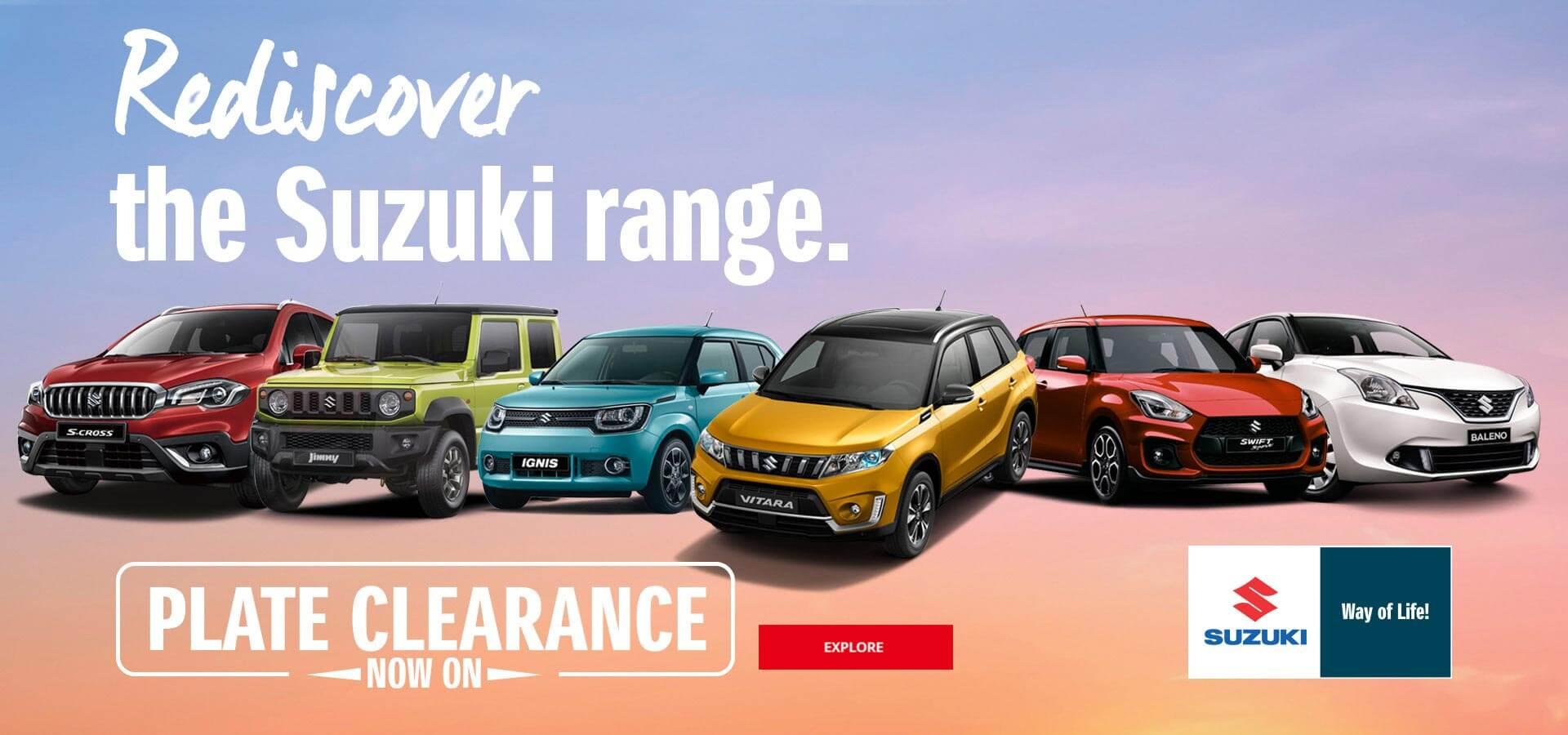 Suzuki QLD - Plate Clearance