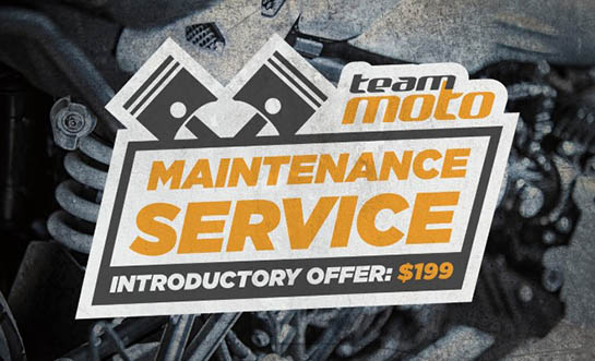 TeamMoto Service Maintenance