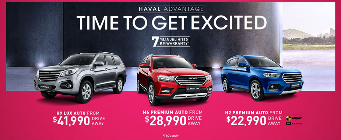 HAVAL Time To Get Excited