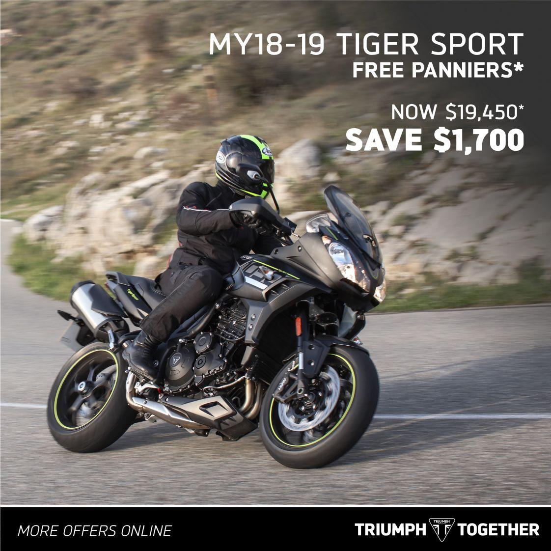 Triumph MY18-20 Tiger Sport