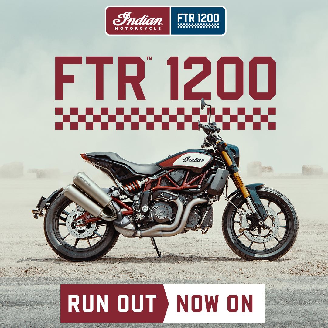 INDIAN FTR 1200 Runout