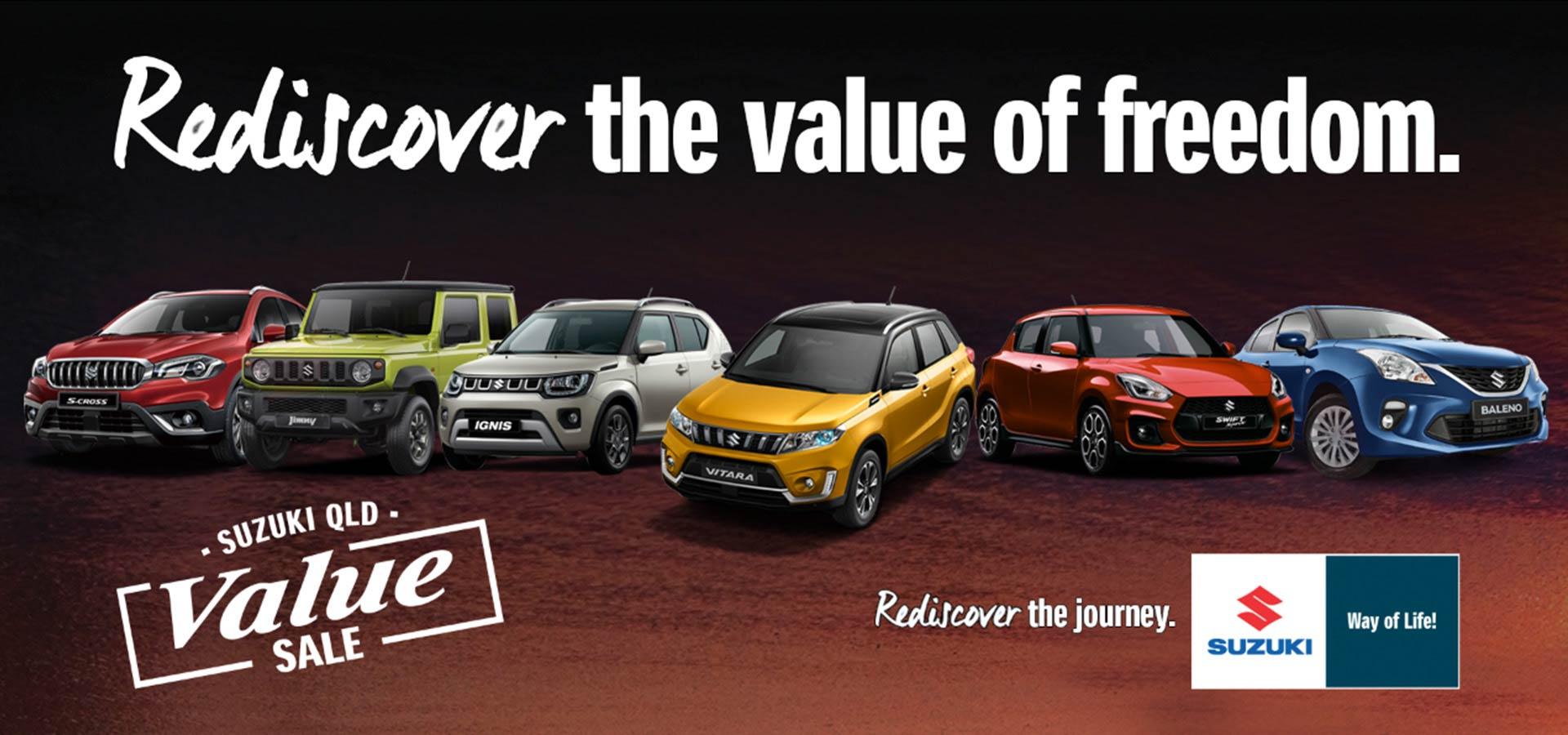 Suzuki QLD - Value Sale