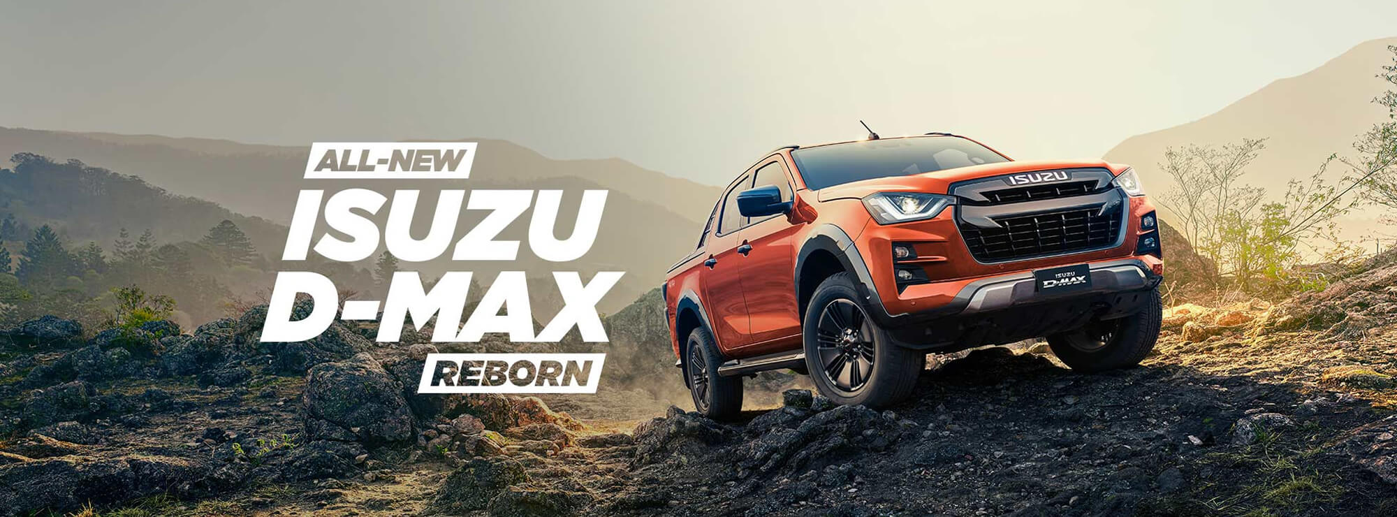 The All New Isuzu D-MAX