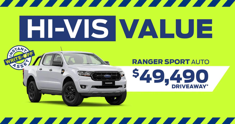 Hi Vis Value Ranger Sport Offer