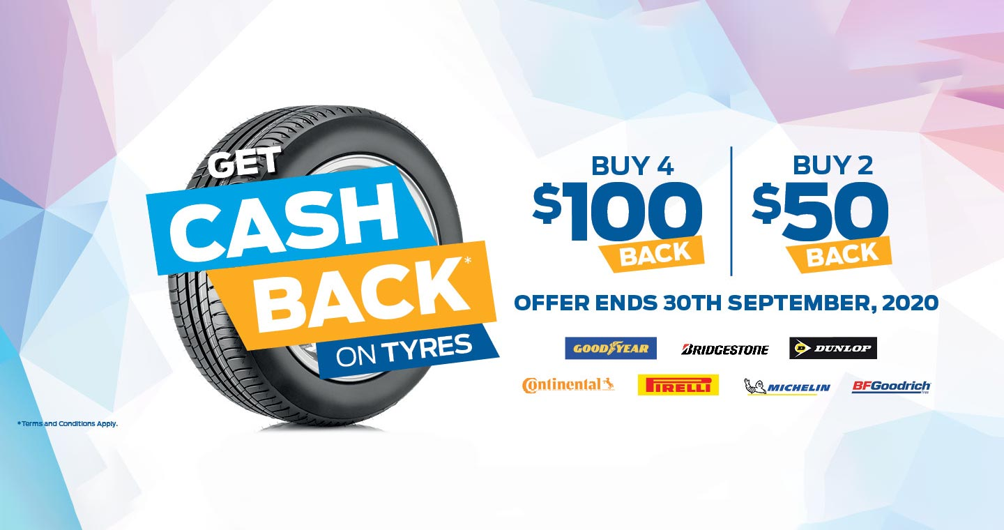 C&P Ford Tyre Cashback Offer