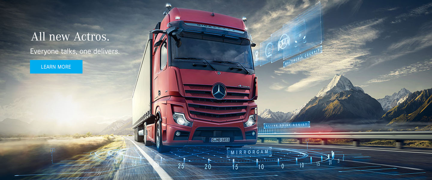 Mercedes-Benz Trucks - New Actros