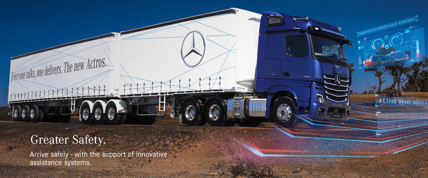 Mercedes-Benz Trucks - Active Break Assist