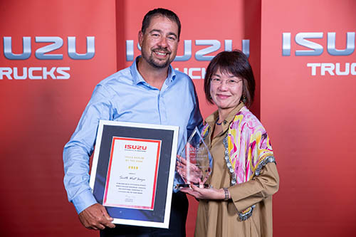 South West Isuzu - 2019 Dealer Of The Year Award