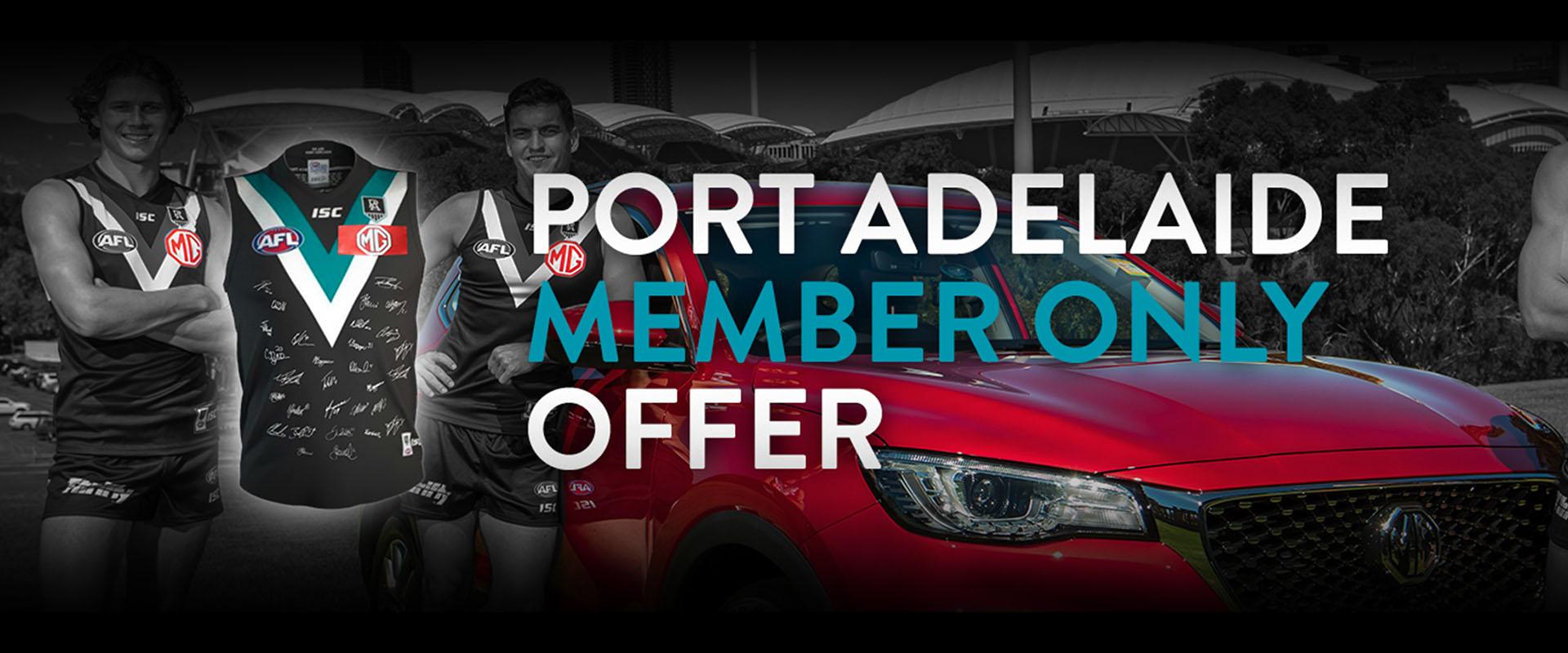 Newspot MG - Port Adelaide MG