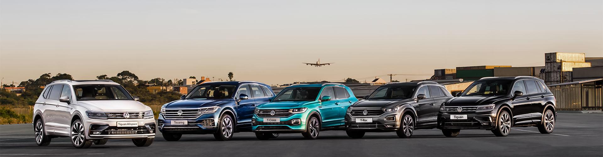 Volkswagen Fleet - SUV Range