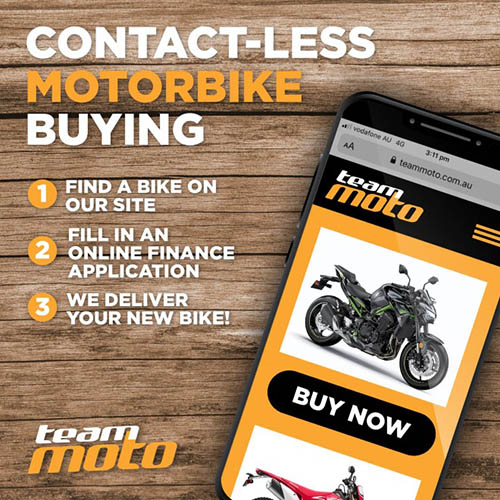 TeamMoto Contactless Buying