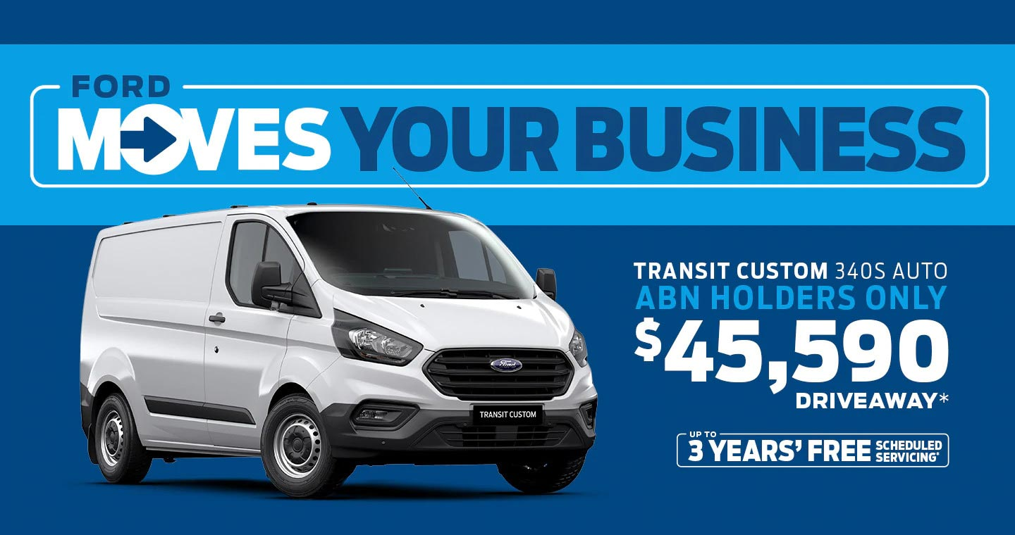 Ford Moves Your Business Van Offer