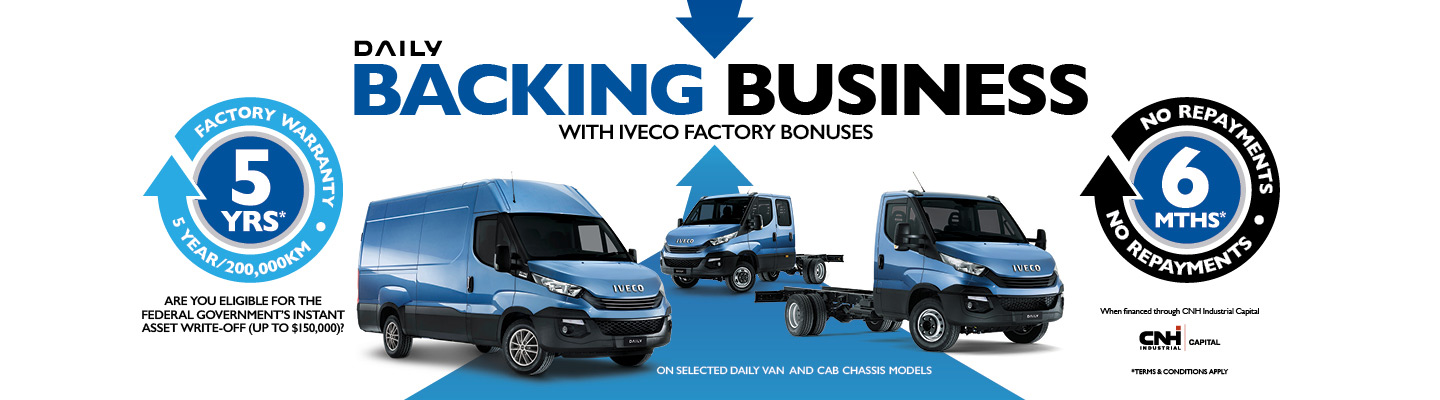Iveco Backing Business Daily Van