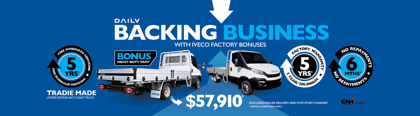 Iveco Backing Business Tradie Made