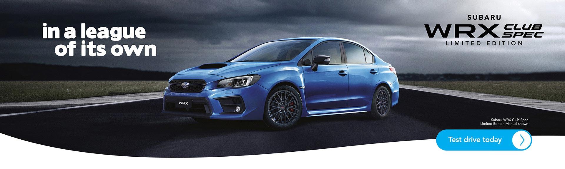 Subaru WRX Club Spec Edition