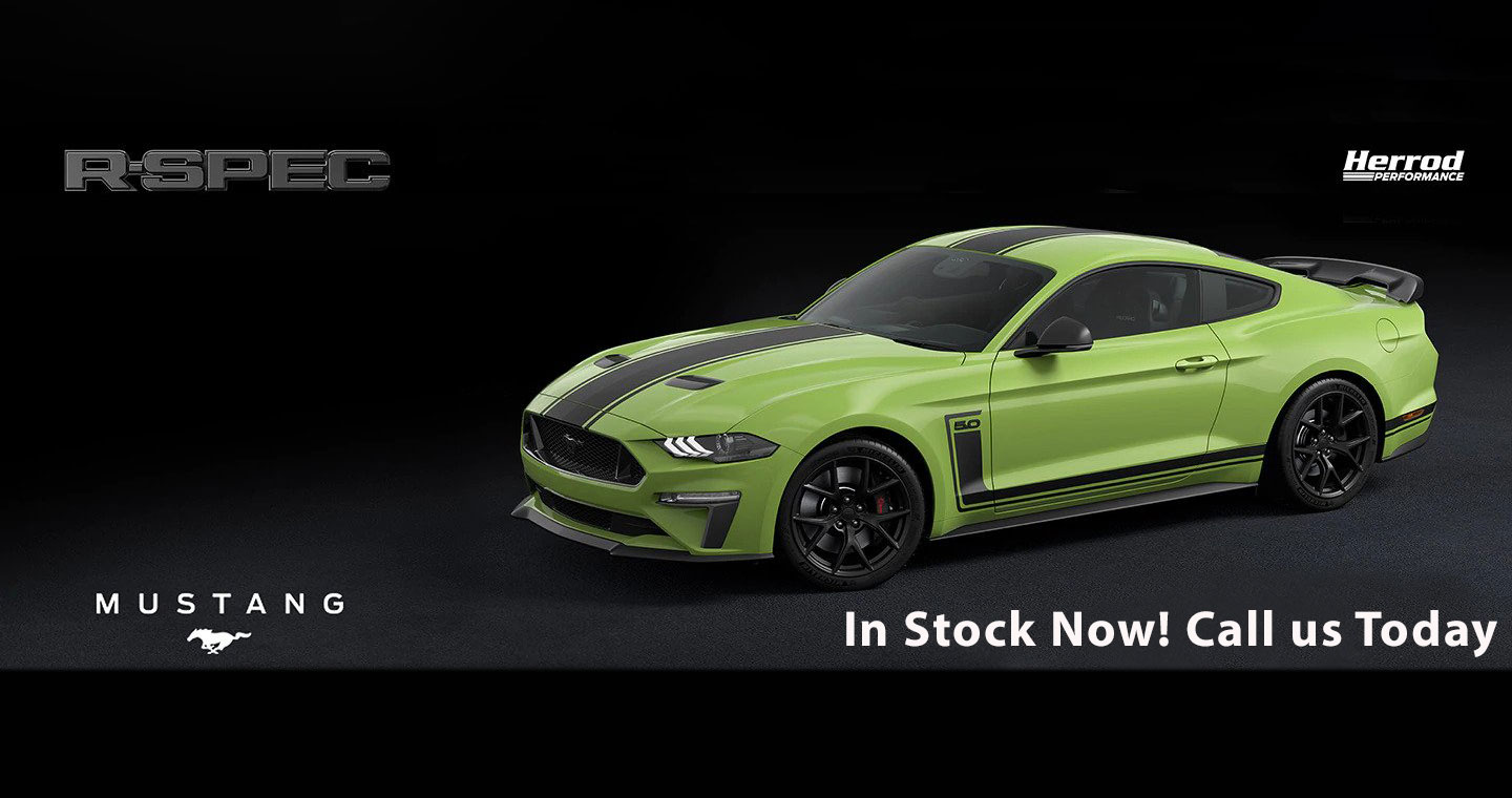 Mustang R-Spec - In Stock