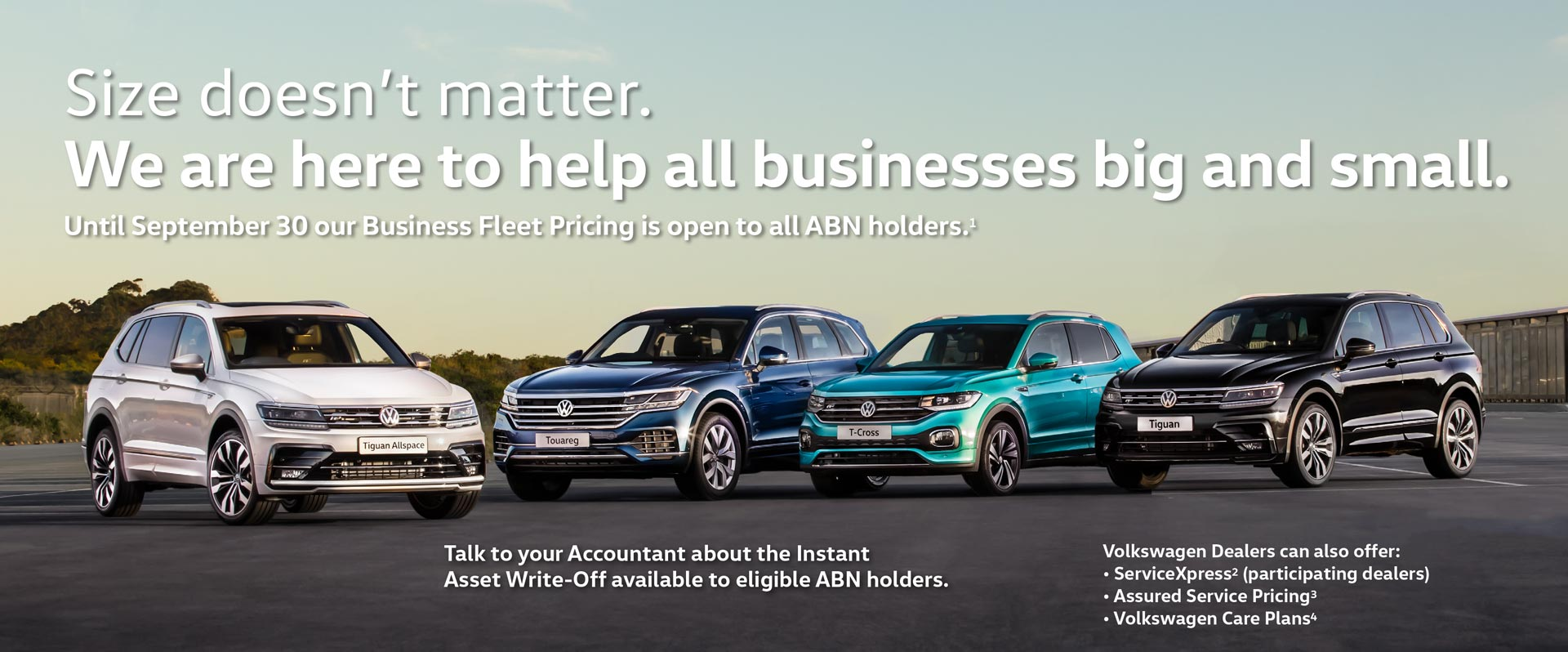 Volkswagen Fleet Offer