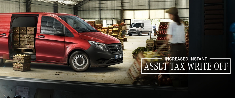 Mercedes-Benz Assest Tax Write Off