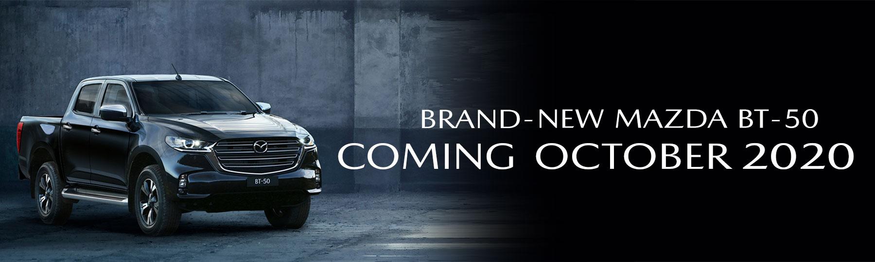 Brand-New Mazda BT-50 2020