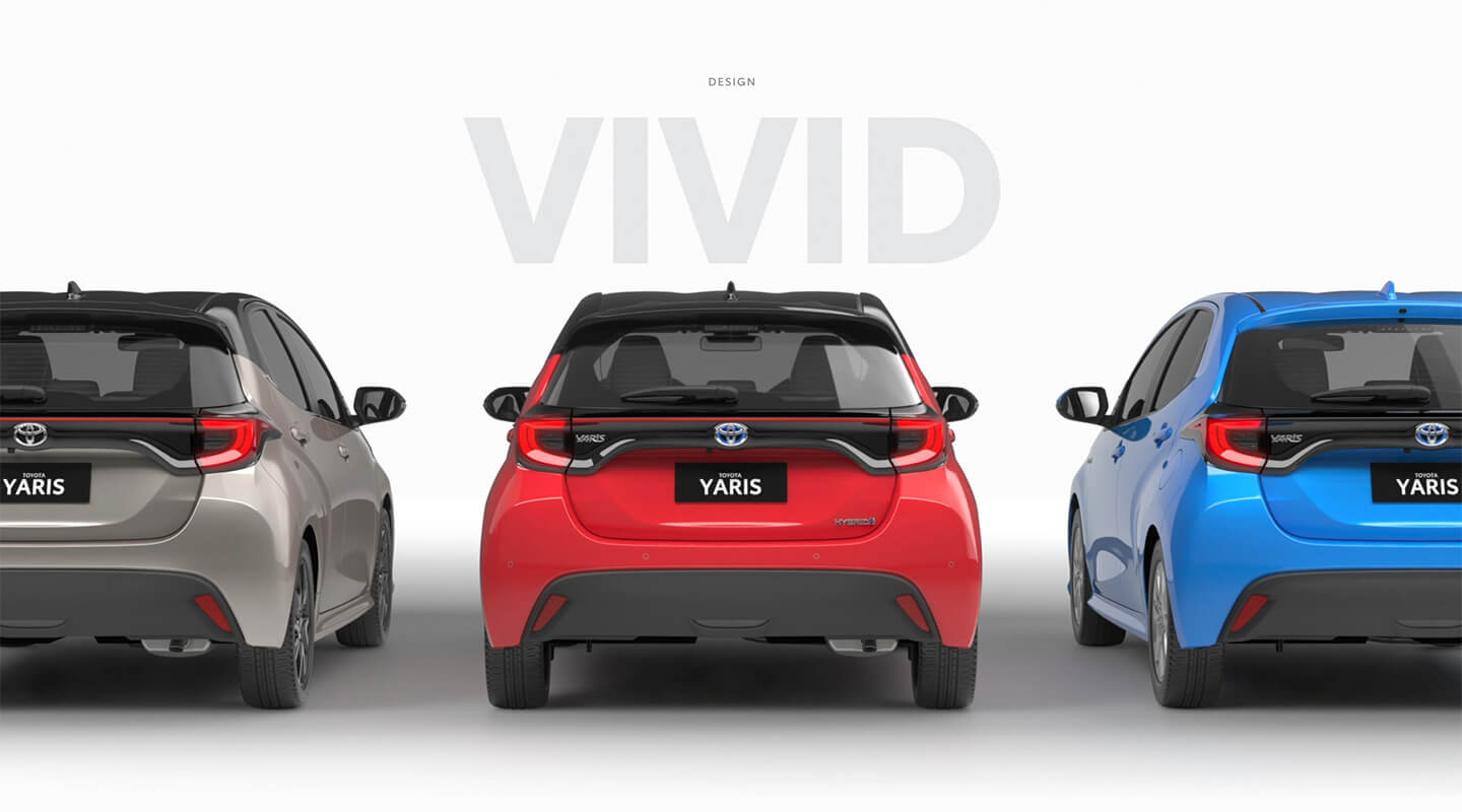 Toyota Yaris 2020 Design