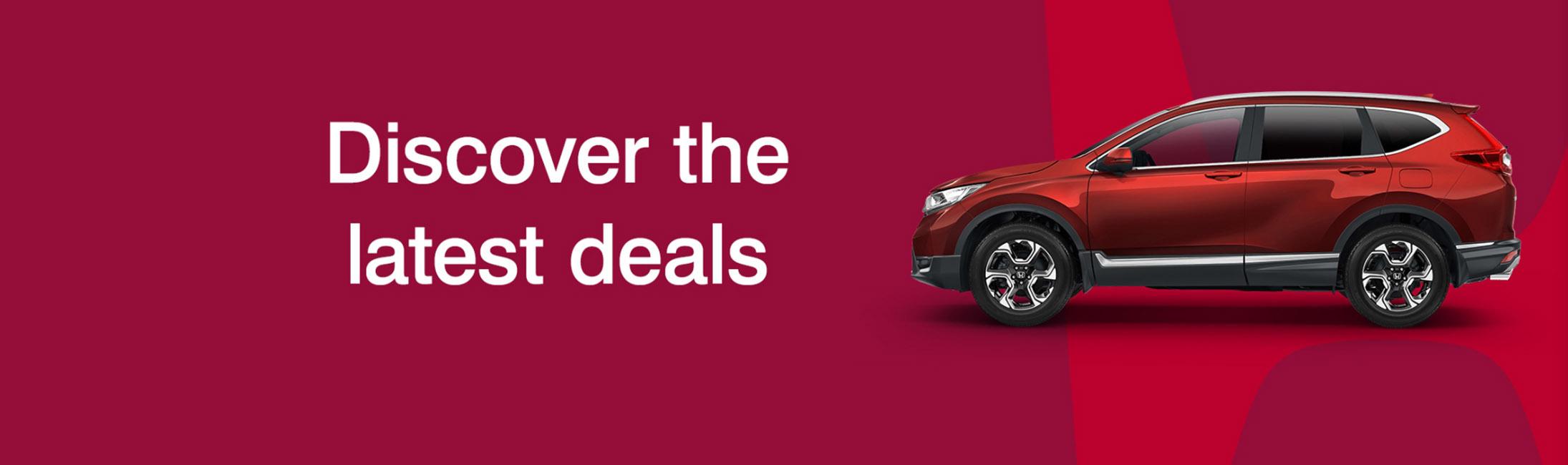 Discover Latest Deals - Honda