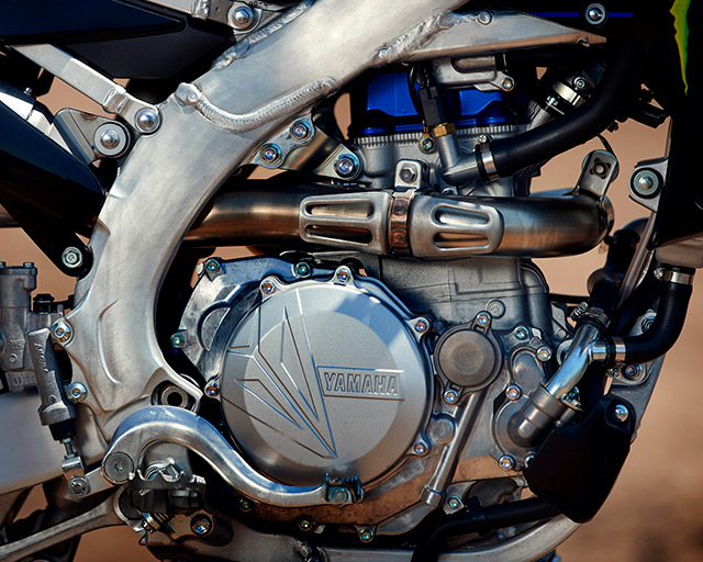 MORE POWERFUL AND COMPACT ENGINE